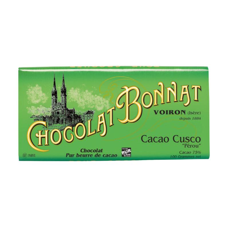 Bière Tablette Bonnat Cacao Cusco - Brasserie Chocolat Bonnat