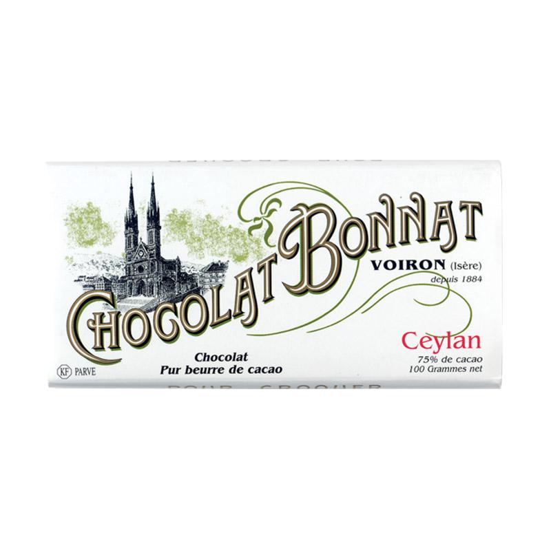Bière Tablette Bonnat Ceylan - Brasserie Chocolat Bonnat